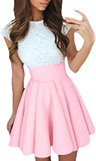 super popular ba97f a3a7a Amazon.it: vestiti estivi ragazza corti - Rosa