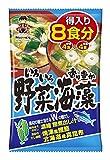 神州一味噌 得入り8食 野菜・海藻 8食