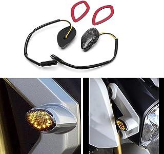 Auto-Parts-Eshop APE Amber LED Flush Mount Smoke Turn Signal Light Brake Tail Blinker Indicator Marker Lamp for Honda Grom...