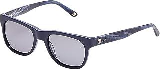 U.S بولو اسن نظارة شمسية وايفارير للنساء - 787-53 - 19-140 ملم، عدسات رمادية