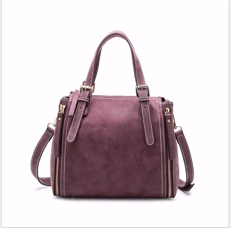 XUZISHAN Damen Beutel Eimer Handtasche Pure Farbe Schleifen Leder Crossbody Single Schultertasche Simple Fashion Messenger Bag B07M89KG28  Günstiger