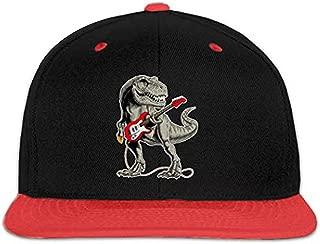Kocvbng I Rooster Cock Boy and Girls Hip Hop Baseball Hats Red