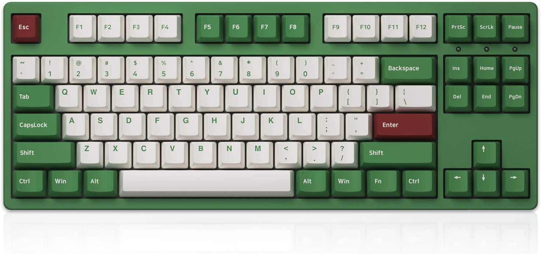 Akko 3087DS Matcha Red Bean Mechanical Keyboard