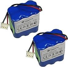 2x Trade-Shop Ni-MH akumulator 7,2V / 2000mAh / 14Wh do iRobot Mint 4200 Mint Plus 5200 5200C Dirt Devil Evo M678 Mint 420...
