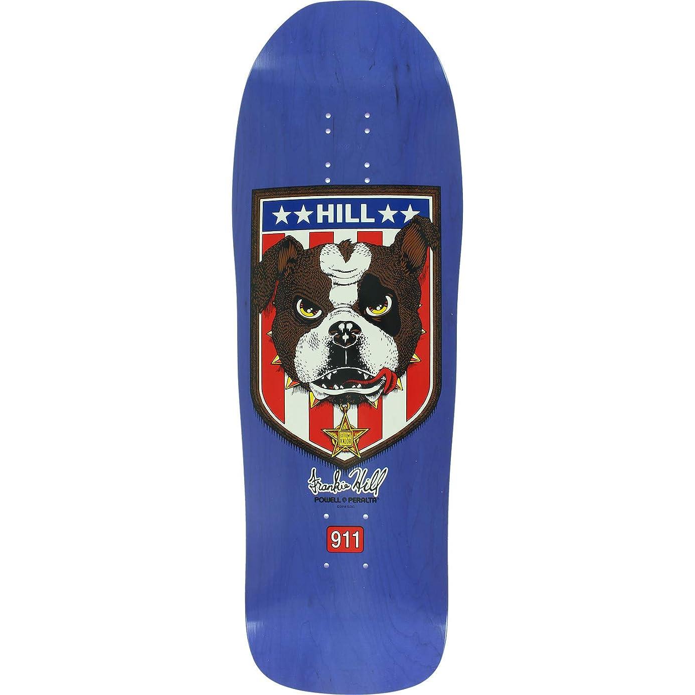 Powell Peralta Hill Bulldog Skate DECK-10x31.5 Purple Stain w/Mob Grip