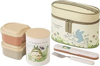 Skater heat insulation lunch box 560ml My Neighbor Totoro watercolor Studio Ghibli KCLJC6