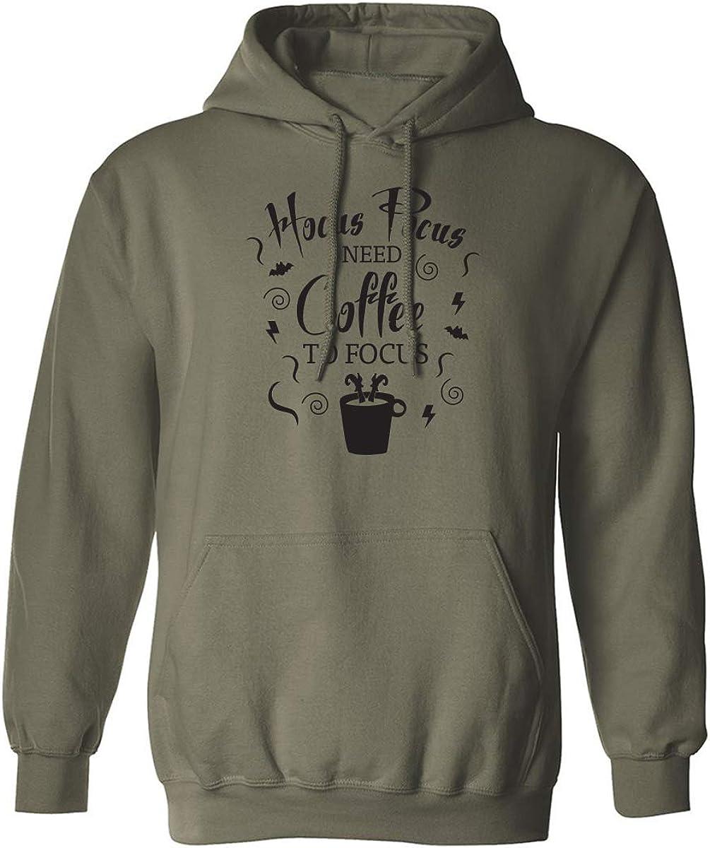 Hocus Pocus I Need Coffee Adult Hooded Sweatshirt