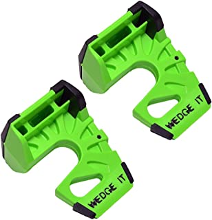 Wedge-It – The Ultimate Door Stop – Lime Green – TWO PACK