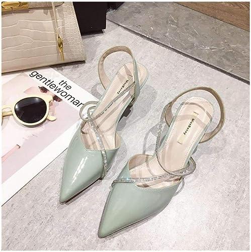 Honneur Sandales Pointues Les Les dames dames Populaires Talons Hauts Strass Chaussures Femmes Sandales pour Femmes