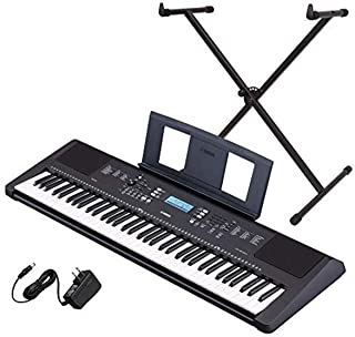 Yamaha PSR-EW310 76-key Portable Keyboard Bundle with Stand