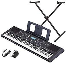Yamaha PSR-EW310 76-key Portable Keyboard Bundle with Stand