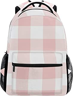 pink gingham backpack