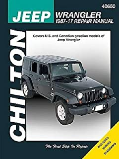 JEEP WRANGLER REPAIR SHOP & SERVICE MANUAL For Years 2008, 2009, 2010, 2011, 2012, 2013, 2014, 2015, 2016 & 2017