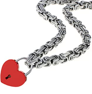 Best stainless steel byzantine chain necklace Reviews