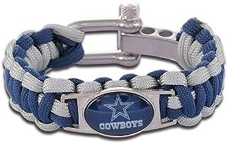 NFL Dallas Cowboys Adjustable Paracord Bracelet By Swamp Fox
