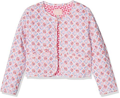Joules Tom Mädchen Bibi Jacke, Mehrfarbig (Cream Summer Mosaic Crmsmos), 116 (Herstellergröße: 6)