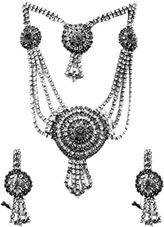 Confidence American Diamond Necklace Set Gift Item for Women