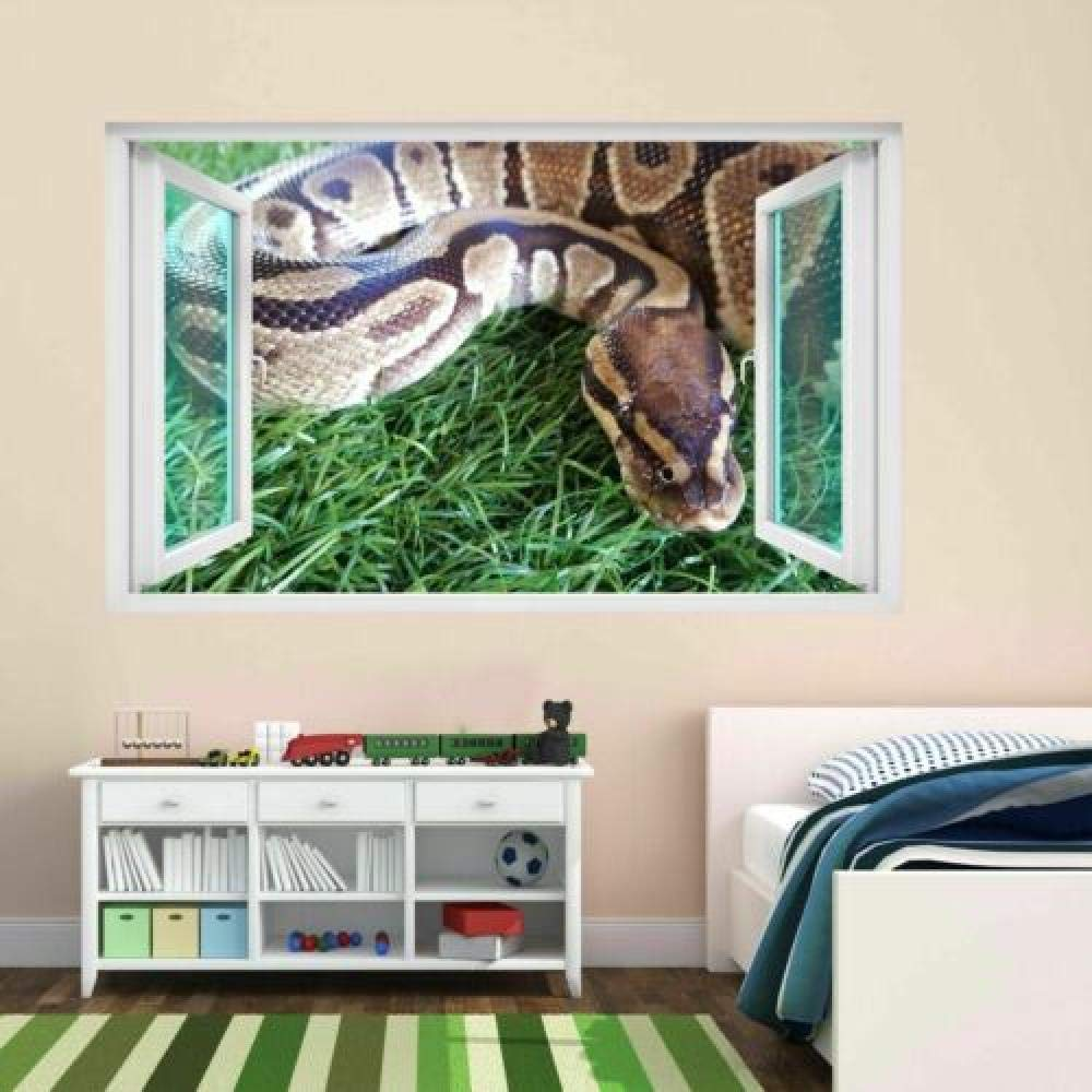 Wall Stickers Python Snake Animal Tropical Wa Wildlife Max 63% OFF Max 56% OFF Africa 3D