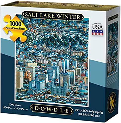 Dowdle Salt Lake City 1000 Piece Puzzle by Dowdle Folk Art