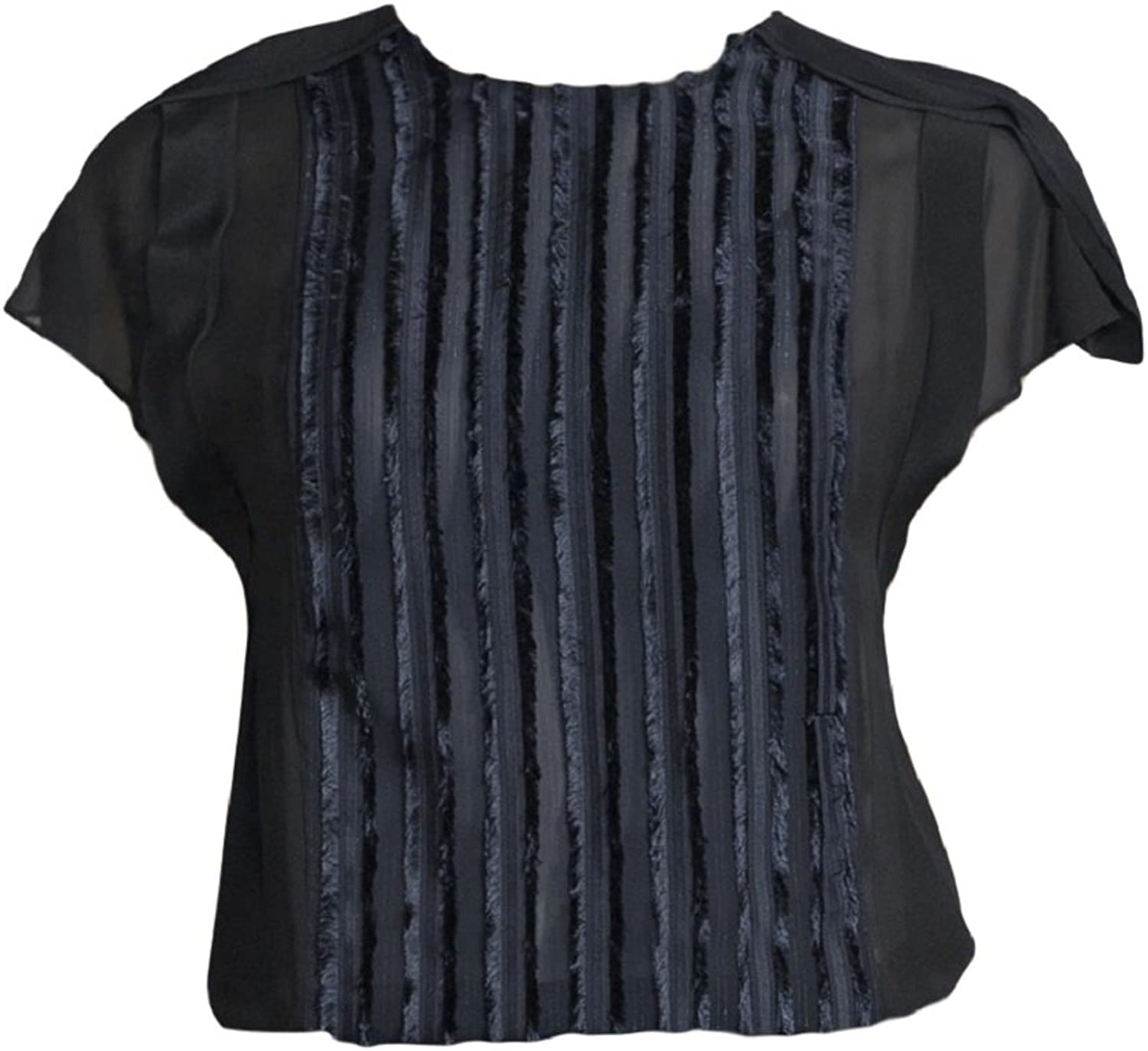 3.1 Phillip Lim Navy Sleeveless Coupe Top 2