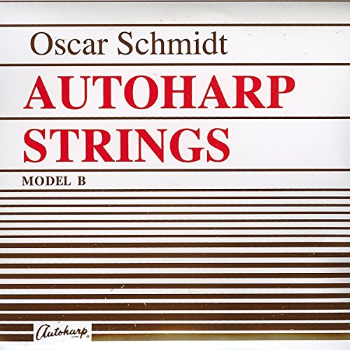 Set of 36 Ball-End Strings for Model B Oscar Schmidt Autoharp