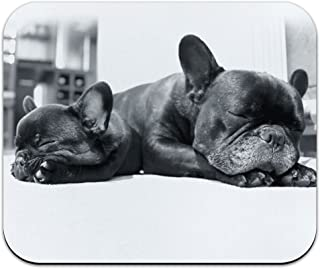 Graphics and More French Bulldogs Sleeping - Frenchies Dog Puppies Mouse Pad Mousepad