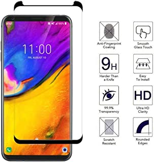 LG V35 ThinQ Tempered Glass Screen Protector-[2 Pack][3D Curved][Anti-Scratch] 9H Hardness Tempered Glass Screen Protector...