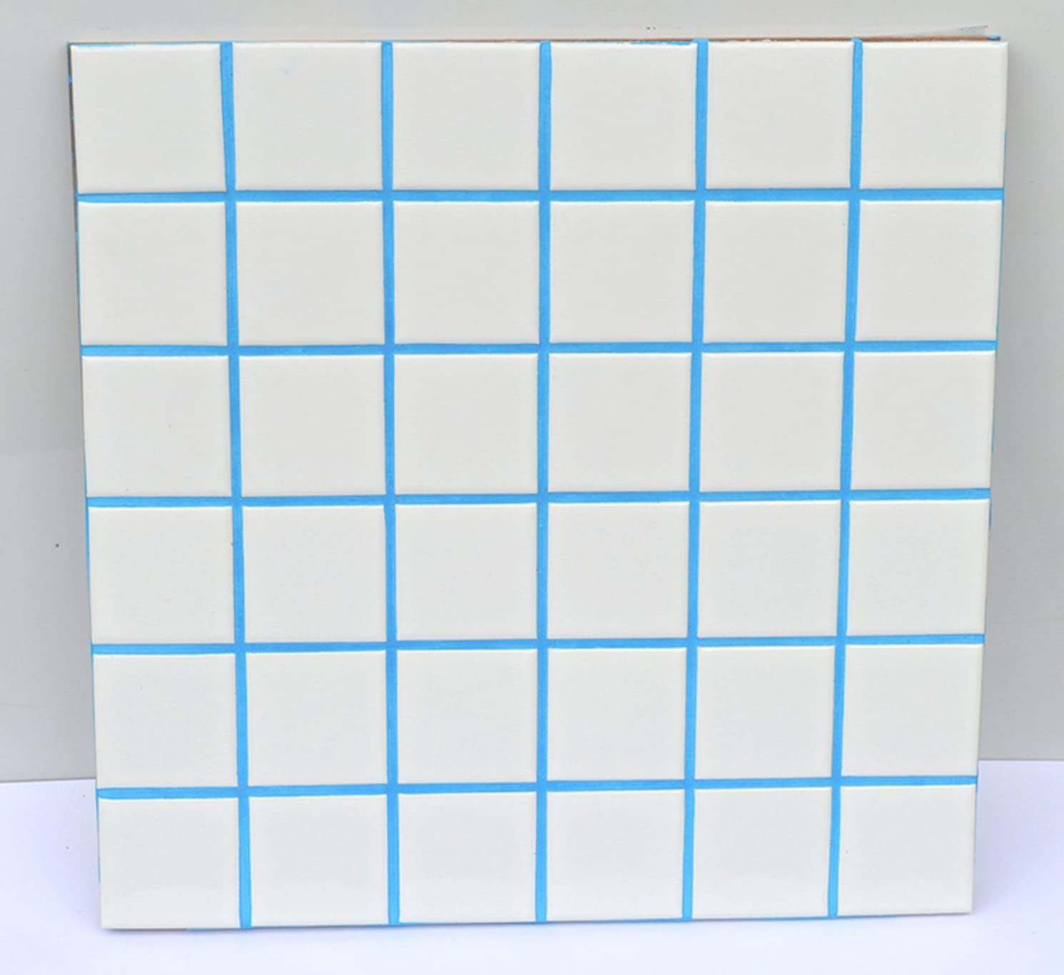 Sky Blue Unsanded Tile Grout - 10 lbs - with Blue Pigment in the mix.