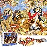 Puzzle Redondo 1000 Piezas,Puzzle,Rompecabezas Redondo,Puzzle Creativo,Puzzle Adultos (Perro)
