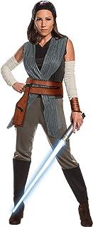 Rubie's Star Wars Episode VIII: The Last Jedi Women's Deluxe Rey Costume
