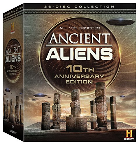 ANCIENT ALIENS 10TH ANNIVERSARY EDITION GIFTSET - ANCIENT ALIENS 10TH ANNIVERSARY EDITION GIFTSET (36 DVD)