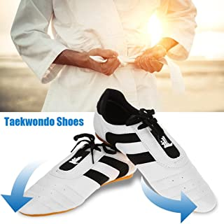 Martial Arts Taekwondo Shoes Lightweight Breathable Sport Boxing Karate Kung fu Taichi Shoes for Adults and Children