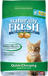 Best naturally fresh walnut based cat litter Reviews