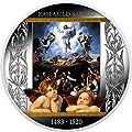 2020 CM Klimt Golden Five PowerCoin TRANSFIGURATION OF JESUS Raffaello Sanzio Silver Coin 500 Francs Cameroon 2020 Proof