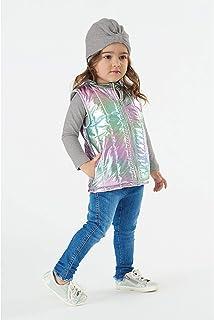 Colete Em Tecido Holografico Menina Up Baby