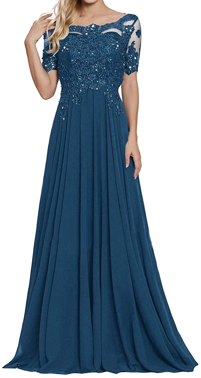 Mother of Popularity The Bride Dresses Beaded Evening For Under blast sales Chiffon Appliques