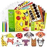 Kits de Arte de Papel de Origami para niños 3 4 5 6 años Origami de Bricolaje Artes y Manualidades...