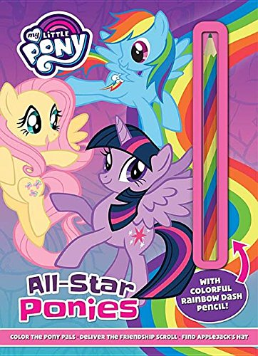 My Little Pony All-Star Ponies: With Colorful Rainbow Dash Pencil!