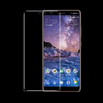 RIFFUE® Protector de Pantalla para Nokia 7 Plus, Cristal Vidrio ...