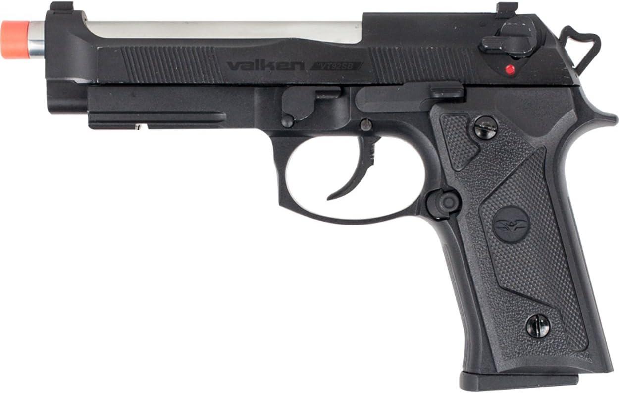 Valken Airsoft Pistol - VT92 mm Gas Finally resale start Columbus Mall Metal-6 Blowback