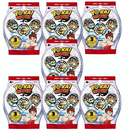 Yokai - Yo-Kai Watch PA. Pack de 7 Sobres.