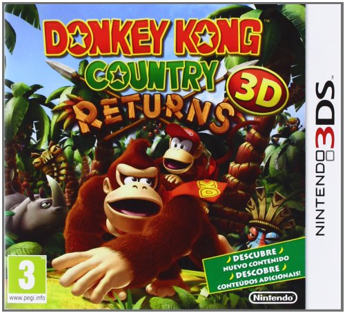 Donkey Kong Country Returns 3D [Spanisch Import]