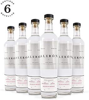 Mezcal Alerón Agave Cenizo 750 ml | Caja de 6 botellas