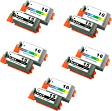 10Pack =5 Sets Compatible Ink Cartridge Replacement for Canon BCI-15 Black Printer Ink Cartridges for i70, i80 Pixma iP90 Pixma iP90V13.89