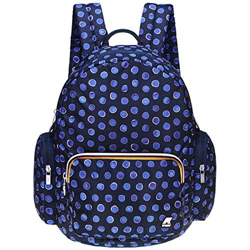 K-Way Zaino Zianetto Borsa Uomo Donna Backpack Bag Men Woman K-Toujours K1R010 -JUUYON BLACK