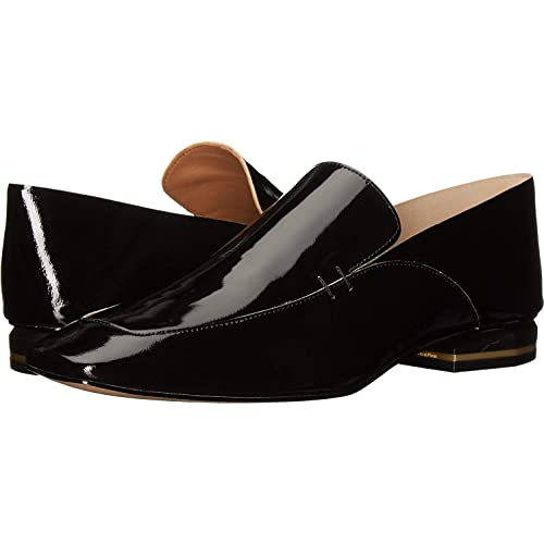 Calvin Klein Womens Bia Leather Closed Toe Loafers