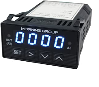 """Morning Group XMT7100 1.3"""" Screen 1/32 DIN LED Digital Display Intelligent Programmable PID Temperature Controller(Blue)"""