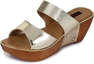 TRASE Pine Heels & Wedges for Women - 2.5 Inch Heel