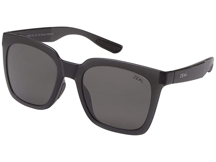 Zeal Optics  Cleo (Matte Black/Polarized Dark Grey Lens) Fashion Sunglasses