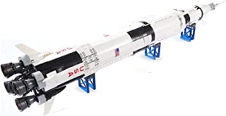 YOUPIN Ideas Series The Saturn V Building Blocks Compatible Space Creator Rocket Space Launch Vehicle Toys for Children (C...